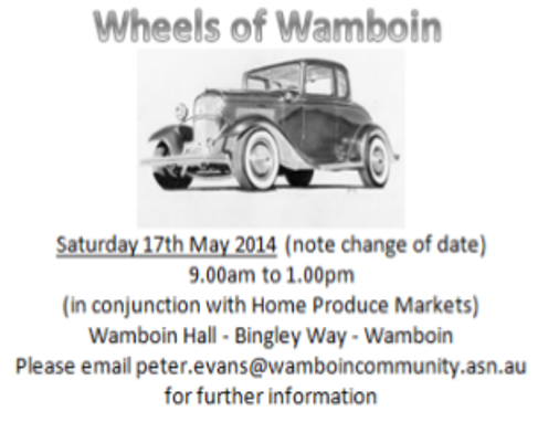 Wheels of Wamboin